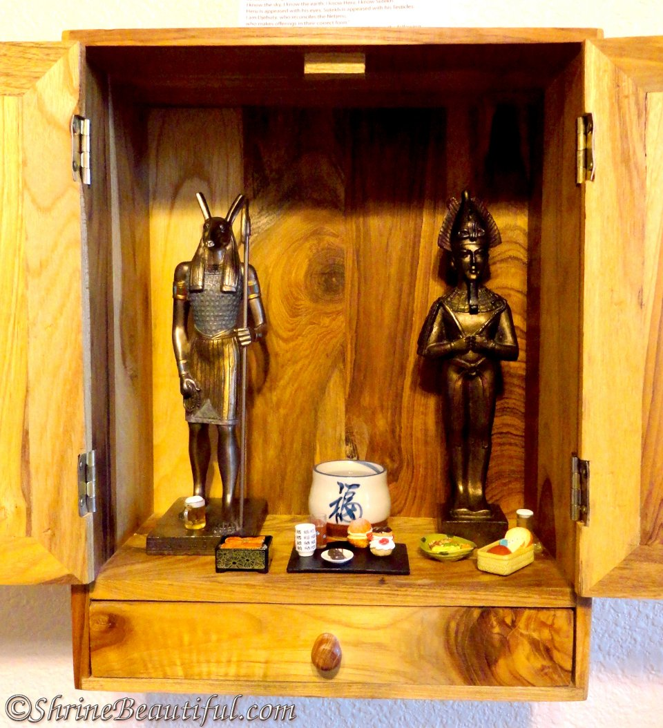 Kemetic – Egyptian | Shrine Beautiful